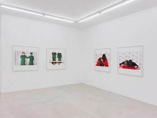 """Pupa Neumann """"Doppelgänger"""", installation view"""