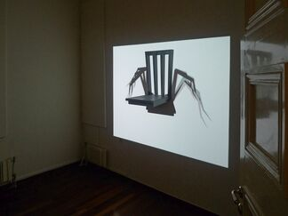 Lines of Passage (in media res)  at the Mytilene Muncipal Art Gallery, Lesvos Greece, installation view
