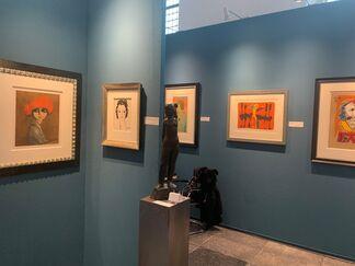 Juffermans Fine Art at Naarden the Art Fair 2020, installation view