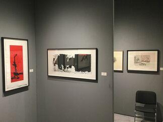 Bernard Jacobson Gallery at IFPDA Print Fair 2015, installation view
