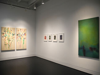 Willem de Looper, Stained Paintings: 1964-1970, installation view
