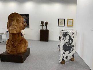 Barbara Paci Art Gallery at WOPART Lugano 2019, installation view