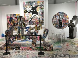 Contessa Gallery at Art Miami 2017, installation view