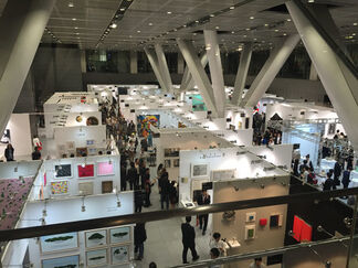 JPS Gallery at Art Fair Tokyo 2016, installation view
