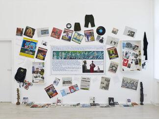 Wien Lukatsch at Art Basel 2015, installation view