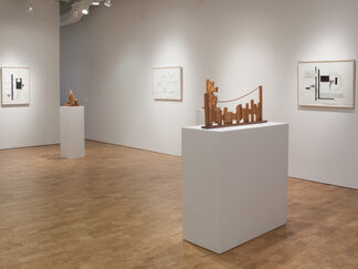 Dorothy Dehner: Compositions and Constructions, installation view