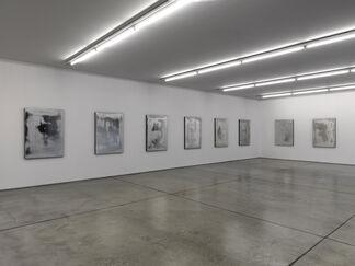 Jacob Kassay   Untitled, installation view