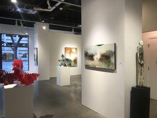 "Joseph Maruska ""Essence of Light"", installation view"