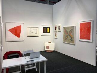 Upsilon Gallery at Art on Paper 2018, installation view