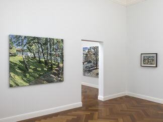 Christopher Lehmpfuhl. Vor Ort. Neue Bilder, installation view