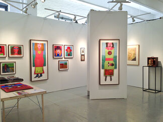 FRED.GIAMPIETRO Gallery at Outsider Art Fair New York 2014, installation view