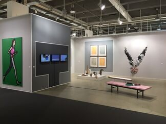 Galerie Bob van Orsouw at Art Basel 2015, installation view
