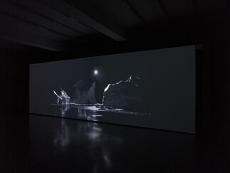 Julian Charrière | Thickens, pools, flows, rushes, slows, installation view