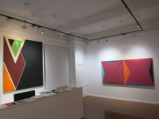 Larry Zox, Master of Color and Form, installation view
