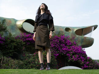 Carla Fernandez at ZⓢONAMACO 2017, installation view