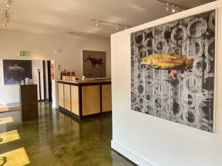 LES THOMAS: Trout, installation view