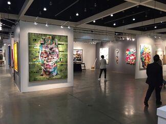 UNIX Gallery at LA Art Show 2016, installation view