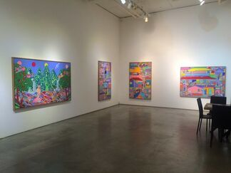 Wormhole, installation view