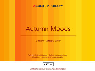 Autumn Moods, installation view