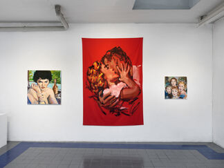 Walter Robinson - Romance, installation view