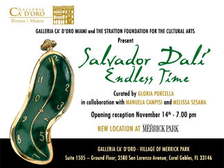 Salvador Dali: Endless Time, installation view