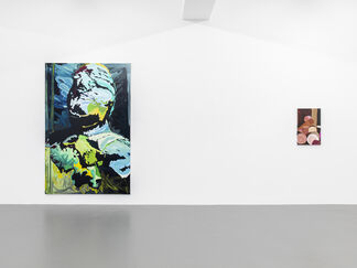 Clare Woods - Hanging, Hollow and Holes, installation view
