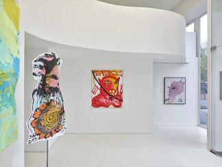 Jonathan Meese | DIE NACKTESTE FREIHEIT DER KUNST, installation view