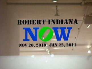 Robert Indiana NOW, installation view