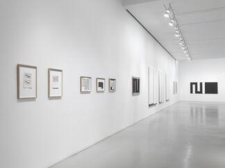 Julije Knifer, installation view