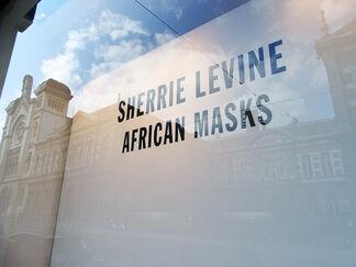 Sherrie Levine - African Masks, installation view