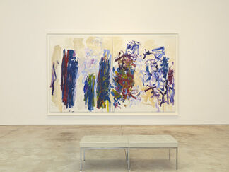 Joan Mitchell: Trees, installation view