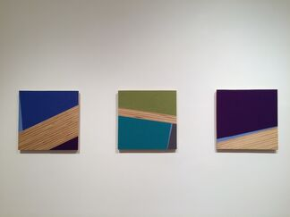 KATE CARR: First Folds, installation view