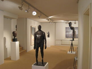 Ofer Lellouche - sculptures and works on paper, installation view