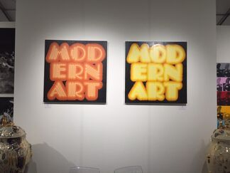 Rhodes at SCOPE Basel 2015, installation view