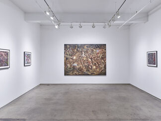 Peter Howson - Prophecy, installation view