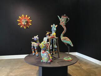 Jan Huling: Tea Time, What's Your Story?, installation view