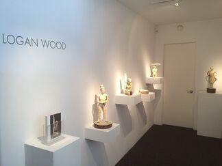 Logan Wood - Wanderings, installation view