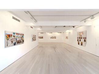 iPhone and iPad drawings 2009-2012 and New Photographic Drawings, installation view