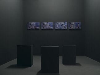 Romain Kronenberg | La forme de son corps avec l'excès de sable | Galerie Laurence Bernard, installation view