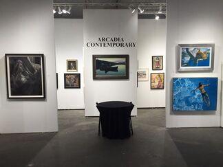 ARCADIA CONTEMPORARY at Houston Art Fair 2016, installation view