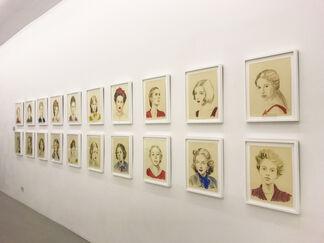 Annie Kevans, installation view