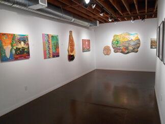 """A Tribute to Genius-ism: David Wetzl"", installation view"