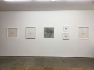 Jake Bethot: Marks, Mountains and Skulls, installation view