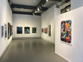 The Figure and Unknown Places, installation view
