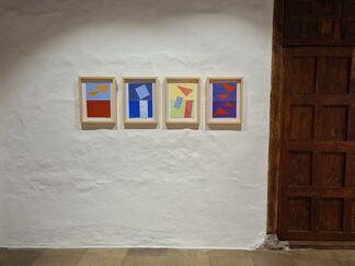Luis Palmero · Viento-madera, installation view