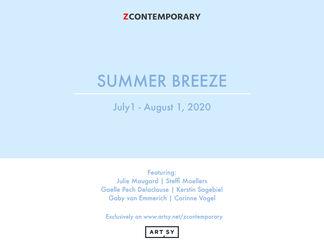 """Summer Breeze"", installation view"