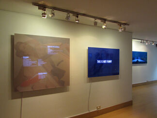 Information Graphics of Capitalism, Recent works by Anibal Gomescasseres, installation view