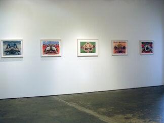 Grappling Mandalas, JOE PERAGINE, installation view