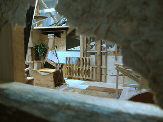 THE BOX Solo Exhibition by SAMBRE, installation view