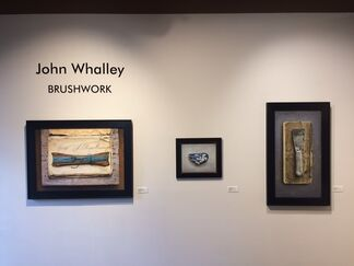 """Brushwork,"" John Whalley, installation view"